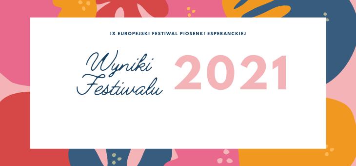 Wyniki Festiwalu 2021